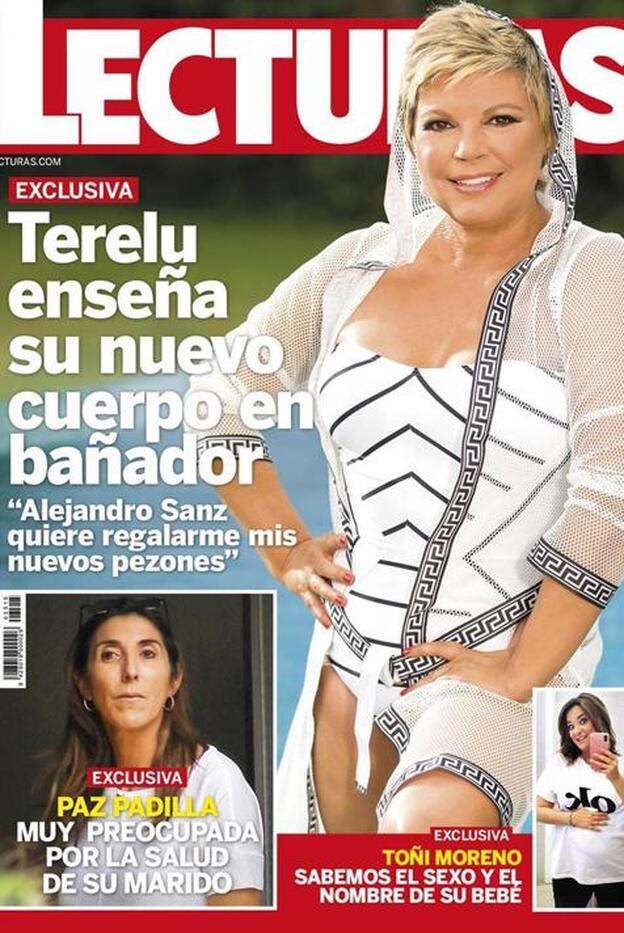 Terelu Campos posa en bañador por primera vez en 30 años   Mujer Hoy