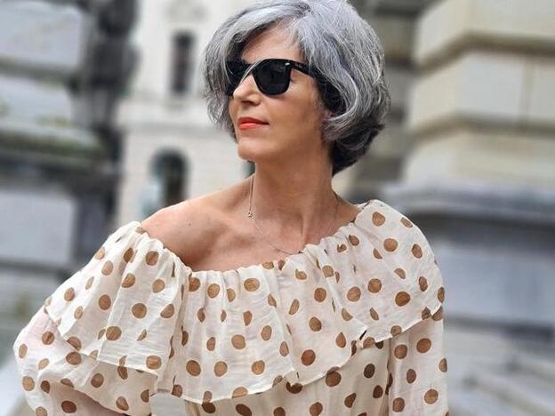 Vestido De Lunares De Mango Y Bolso De Zara Kids Así Es El Look De Primavera Que Rejuvenece A Los 50 Y Que Ha Arrasado En Instagram Mujer Hoy